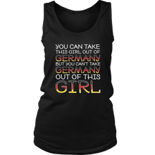 You Can't Take The Germany Out Of This Girl! Black Tank Top