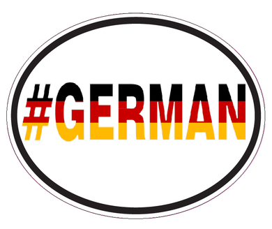 #German Vinyl Decal