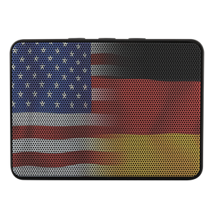 German/USA Flag Bluetooth Speaker!