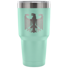 German Eagle Etched Tumbler (Powder Coated)