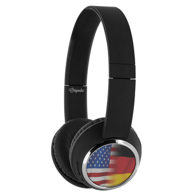 USA-German Flag Bluetooth Headphones!