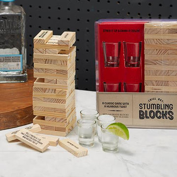 Game with Shot Glasses