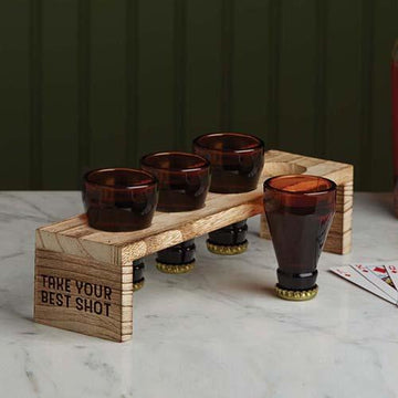 Beer Bootle Shot Glasses