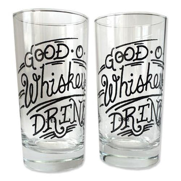 Good O' Whiskey Glass