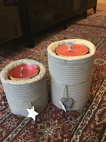 Outside Candle holder set (big+small)