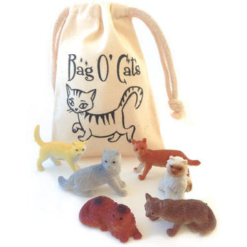 Mini bag of Cats