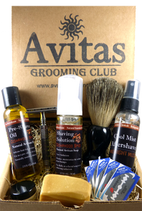 Men Grooming, Shaving Solution, Beard Oil, Avitas Grooming Kits
