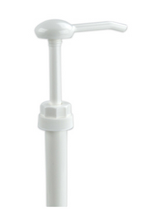 WHITE DISPENSING PUMP