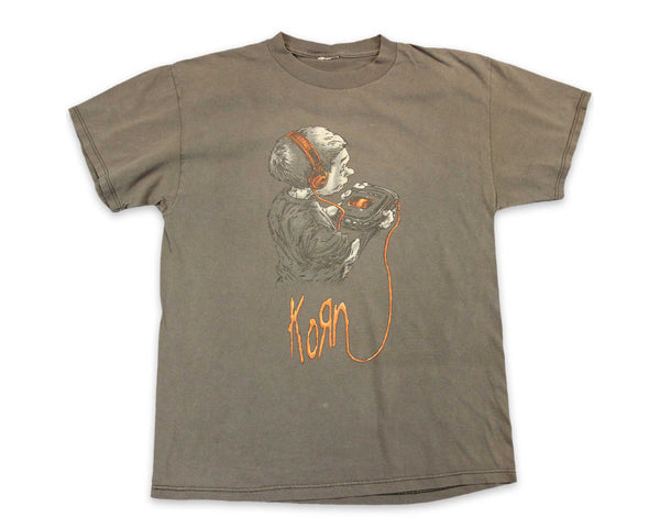 90s Korn Follow the Leader Tour Vintage T-Shirt | REVIVAL Clothing