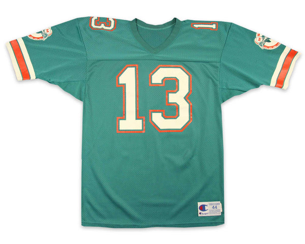 90s Miami Dolphins Dan Marino Football Jersey | REVIVAL Clothing