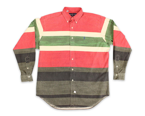 90's Ralph Lauren Southwest Striped Vintage Button Shirt