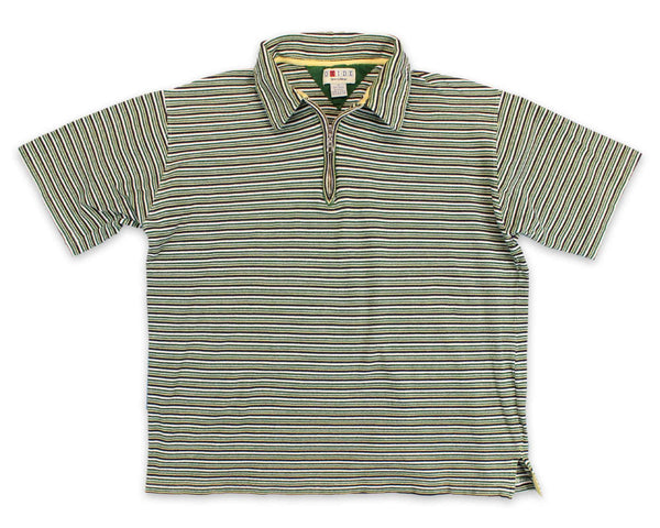 90's Oxide Striped Streetwear Vintage Polo Shirt