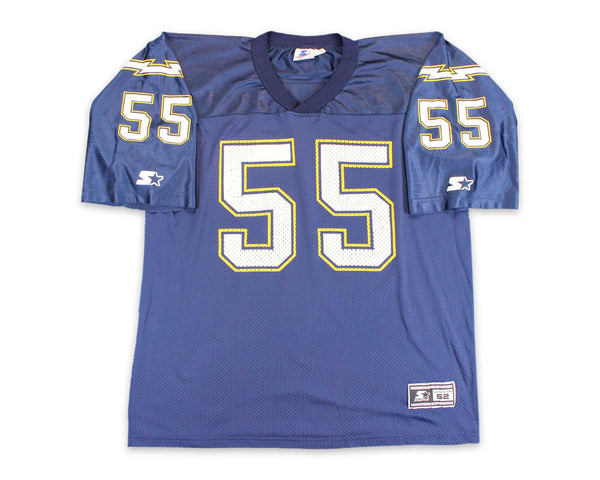 90's Junior Seau San Diego Chargers Starter Vintage Football Jersey