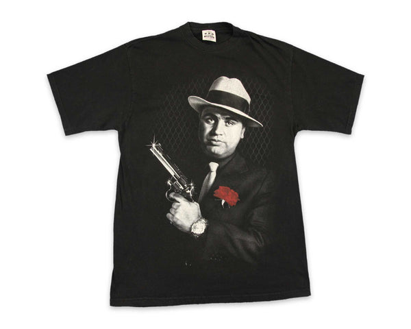 00s Al Capone Gangster T-Shirt | REVIVAL Clothing