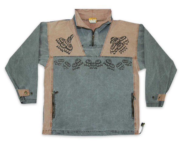 Vintage 90s Native Raven Pullover Jacket | REVIVAL Clothing