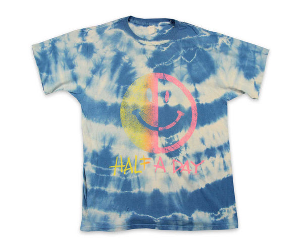 90s Smiley Face Tie Dye Vintage T-Shirt | REVIVAL Clothing