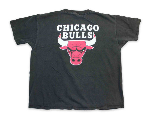 Vintage 90s Chicago Bulls Faded T-Shirt | REVIVAL Clothing