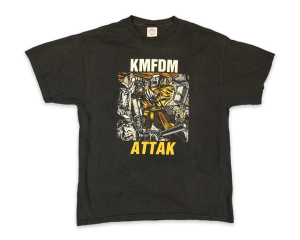 KMFDM Attak Industrial Tee