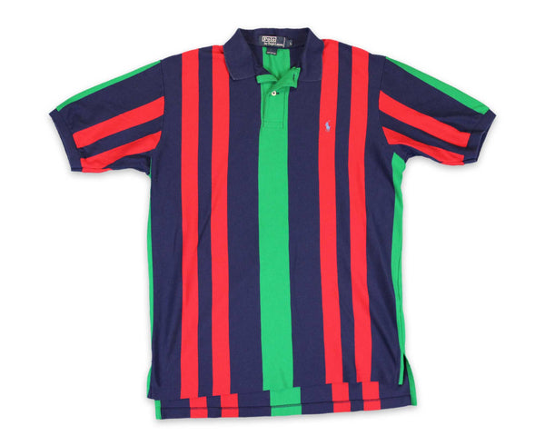 Vintage 90s Ralph Lauren Polo Striped Shirt │ REVIVAL Clothing