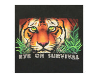90's Eye on Survival Tiger Extinction Vintage T-Shirt