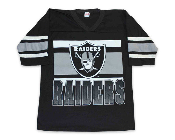 Vintage 90s LA Raiders Jersey T-Shirt | REVIVAL Clothing