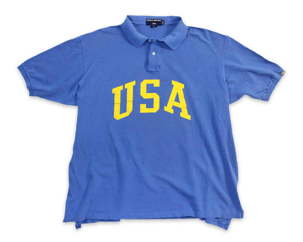 Vintage 90s Polo Sport USA Mens Shirt | REVIVAL Clothing