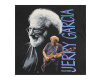 90s Vintage Jerry Garcia Grateful Dead T Shirt Detail