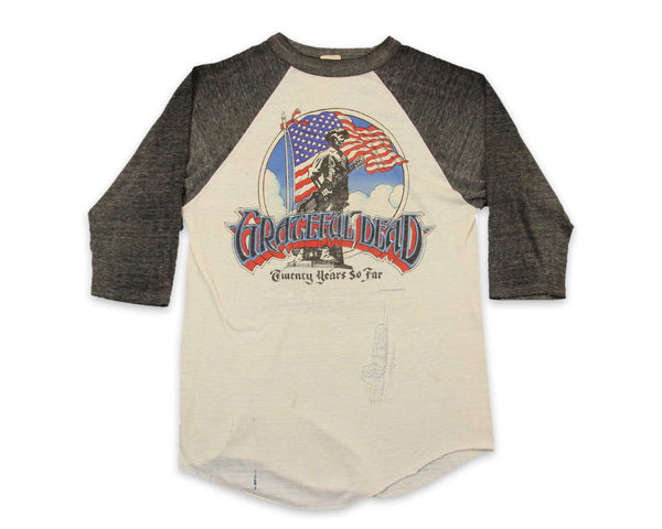 80s Vintage Grateful Dead Concert Tour T-Shirt | REVIVAL Clothing