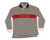 Vintage 90s Tommy Hilfiger Rugby Polo Shirt │ REVIVAL Clothing