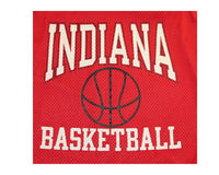 Vintage 90s Indiana Hoosiers Champion Basketball Jersey Detail