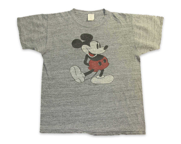 Vintage 60s Mickey Mouse Rayon T Shirt | REVIVAL Clothing