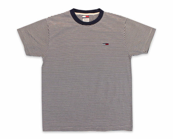 90's Tommy Hilfiger Striped Vintage T-Shirt