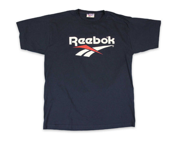 Vintage 90s Reebok Spell Out T-Shirt │ REVIVAL Clothing