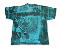 Vintage 90s Nike Flight Basketball Pattern T Shirt | REVIVAL Online Store