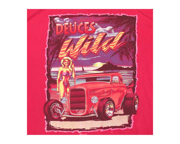 Deuces Wild Car Tee