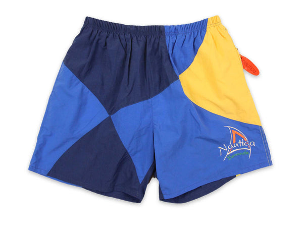 Vintage 90s Nautica Sailing Swim Shorts | REVIVAL Clothing