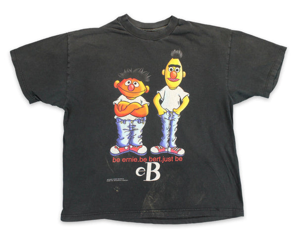 Bert Ernie Just Be Tee