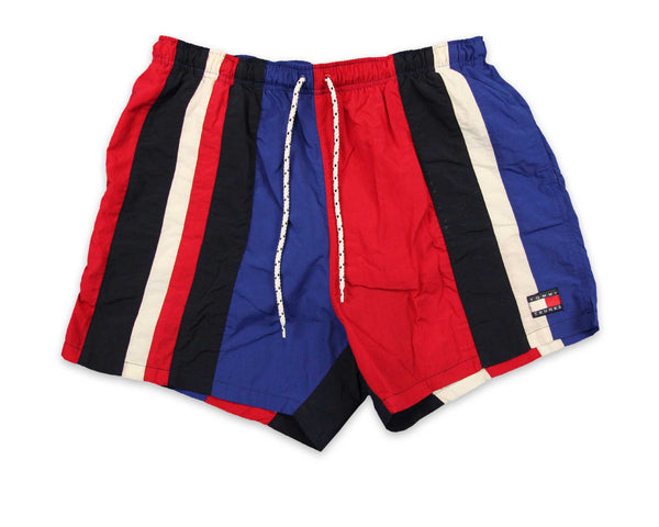 Vintage 90s Men's Tommy Hilfiger Swim Trunks | REVIVAL Clothing