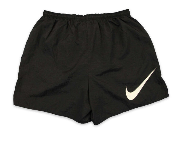 Vintage 90s Nike Black Swoosh Mens Shorts | REVIVAL Online Shop