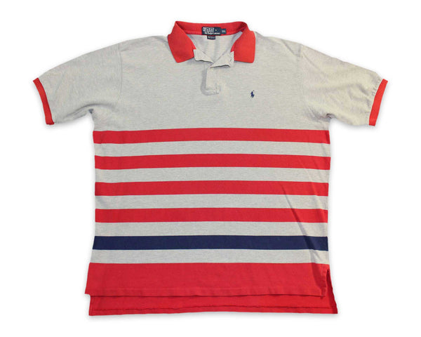Vintage 90s Ralph Lauren Polo Mens Striped Shirt | REVIVAL Clothing