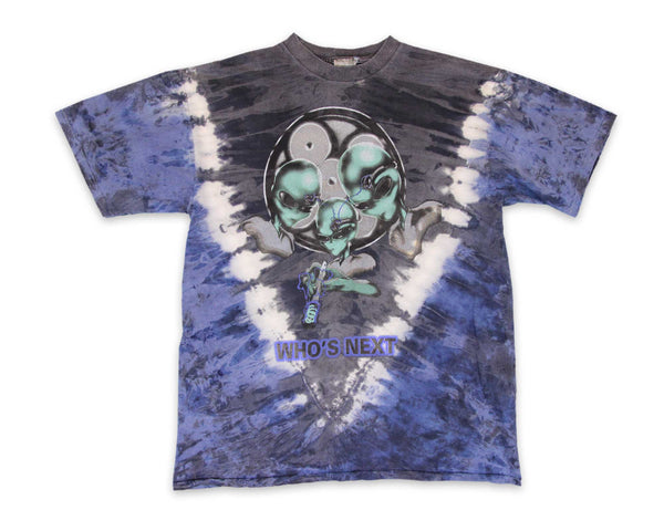 Vintage 90s Tie Dye Alien T-Shirt │ REVIVAL Clothing