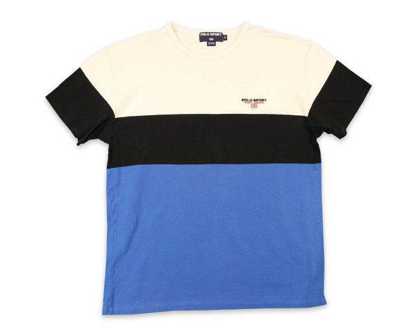 Vintage 90's Polo Sport Color Block Shirt  | REVIVAL Shop Men