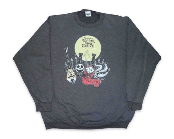 Vintage 90s Nightmare Before Christmas Sweatshirt | REVIVAL Clothing
