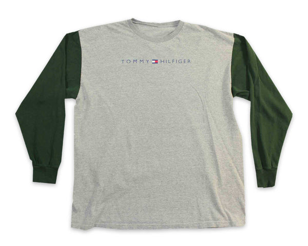 Vintage 90s Tommy Hilfiger Spellout Logo T-Shirt | REVIVAL Clothing