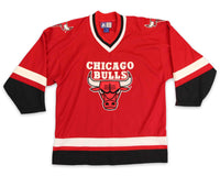 Vintage 90s Chicago Bulls Hockey Jersey | REVIVAL Clothing