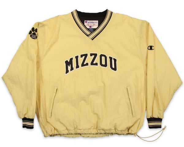 90s Missouri Tigers Champion Vintage Pullover Jacket