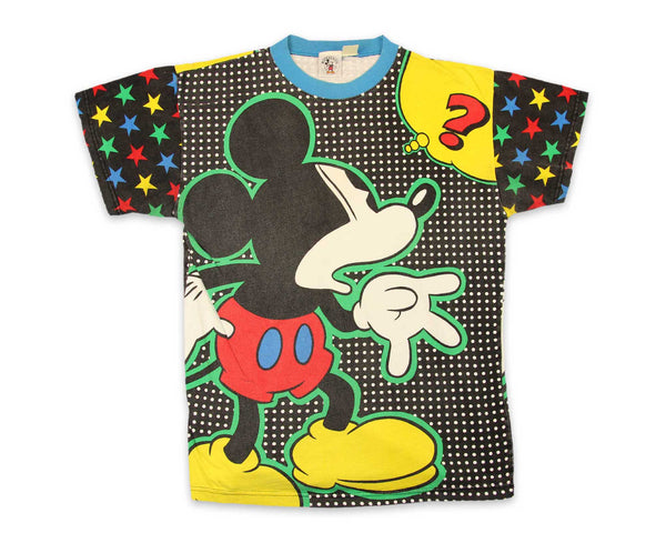 90s Mickey Mouse All Over Print Vintage T-Shirt | REVIVAL Clothing