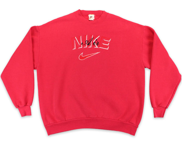 90s Nike Air Embroidered Logo Vintage Streetwear Sweatshirt
