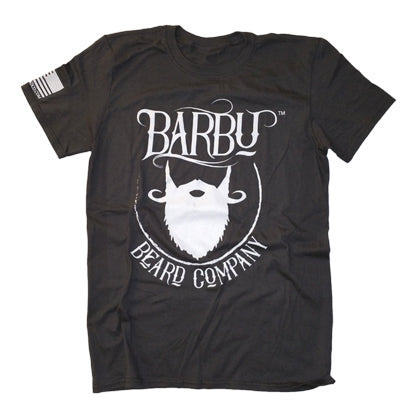 Limited Edition Barbu Beard Co. Charcoal gray T-Shirt