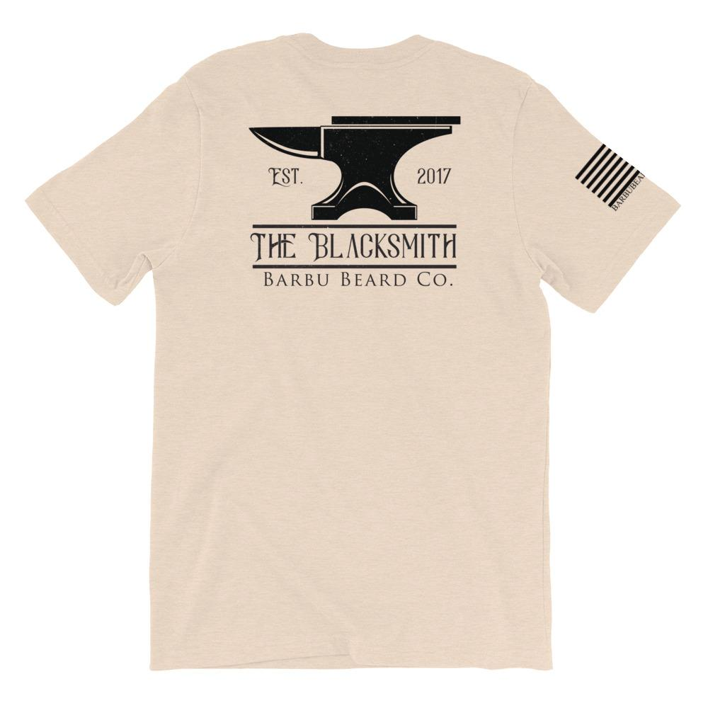 The Blacksmith Short-Sleeve T-Shirt (Heather Dust)